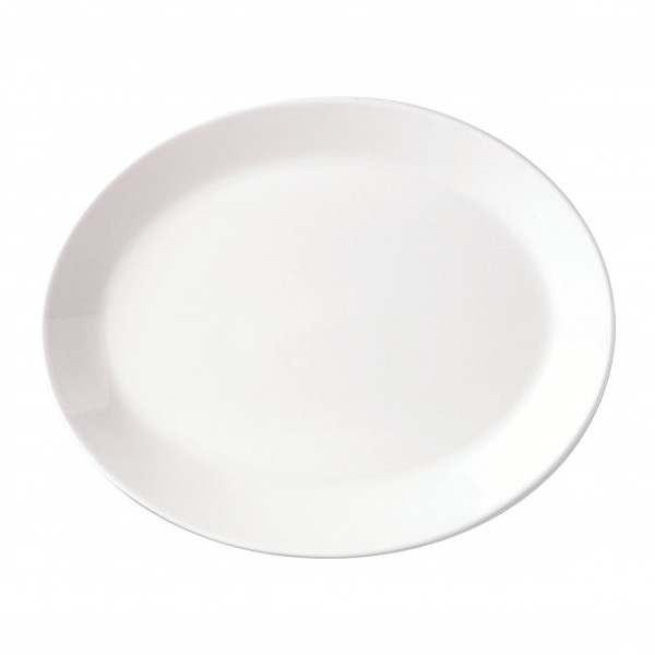 """Simplicity Oval Plate - 28cm (11"""")"""