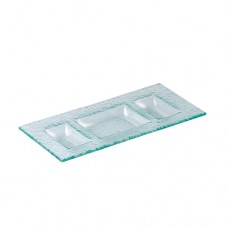 "Rectangle 3 Compartment Deep Tray - 30cm (11 3/4"")"