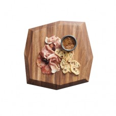 """Creations Wood Faceted Board - 38.1cm (15"""")"""