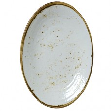 """Craft Melamine Oval Coupe Plate - 32.4cm (12 3/4"""" x 8 3/4"""")"""
