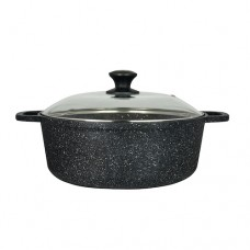 """Folio Cookware Round Induction Buffet Pot W/Tempered Glass Lid - 37.5cm (14.75"""")"""