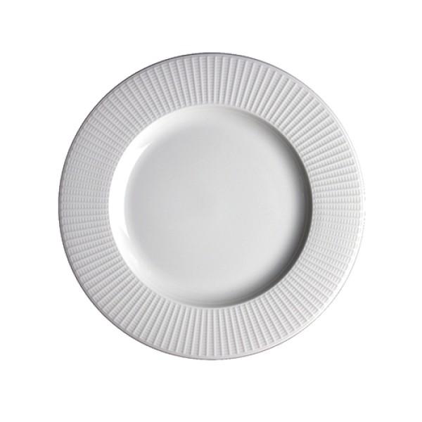 "Willow Mid Rim Plate - 27cm (10 5/8"")"