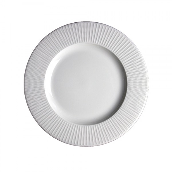 "Willow Mid Rim Plate - 25.5cm (10"")"