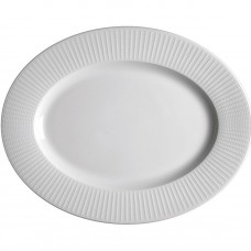 "Willow Oval Plate - 33cm (13"")"